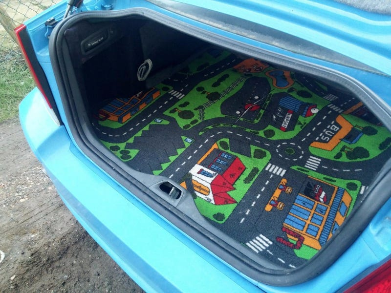 Illustration for article titled All other trunk mats are inadequate