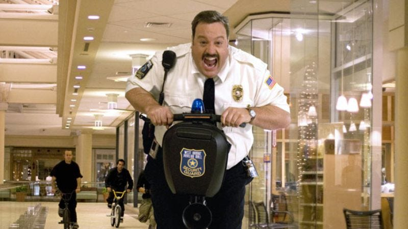 Illustration for article titled Paul Blart: Mall Cop