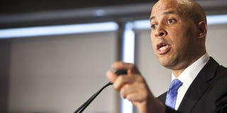 Newark Mayor Cory Booker won the New Jersey Democratic nomination for the U.S. Senate. (Ramin Talaie/Getty Images)