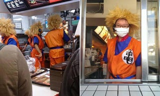 Illustration for article titled McDonald's Serves Up Cosplay in Taiwan
