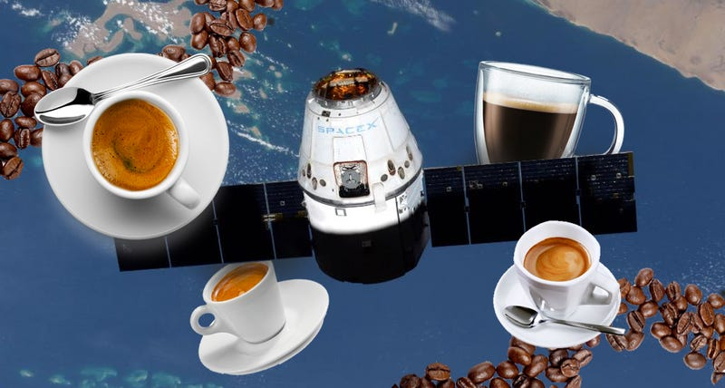 Illustration for article titled One Small Espresso Machine For the ISS, One Giant Leap For Humankind