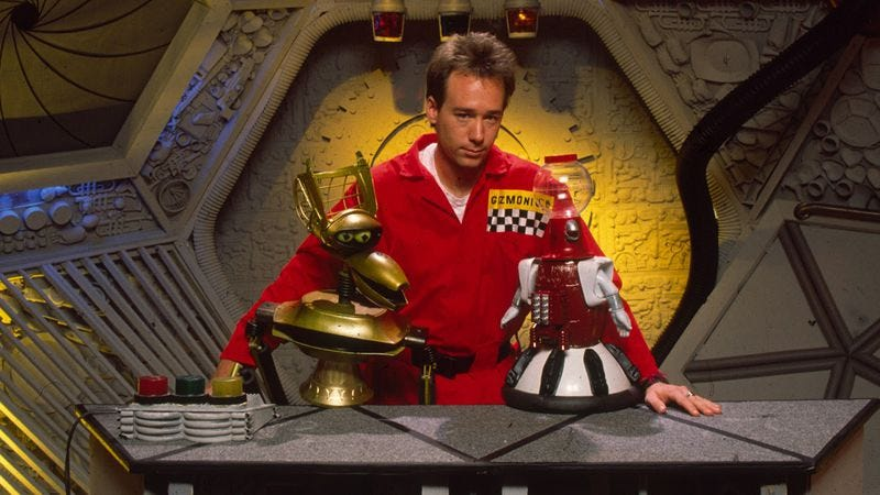 "Illustration for article titled Play ""Where's Servo"" with this poster of characters from every single MST3K"