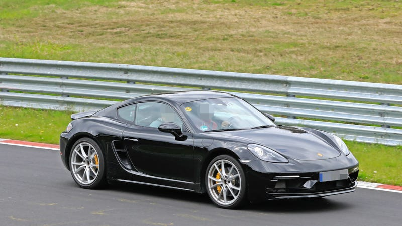 Illustration for article titled Six Cylinder Porsche 718 Boxster and Cayman Touring Models Spied Testing