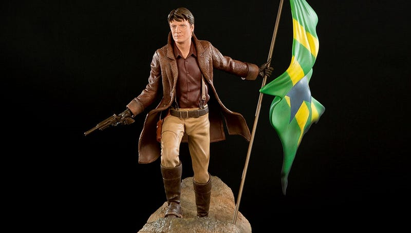 Illustration for article titled Too Pretty to Die: The Ultimate Statue of Firefly's Malcolm Reynolds