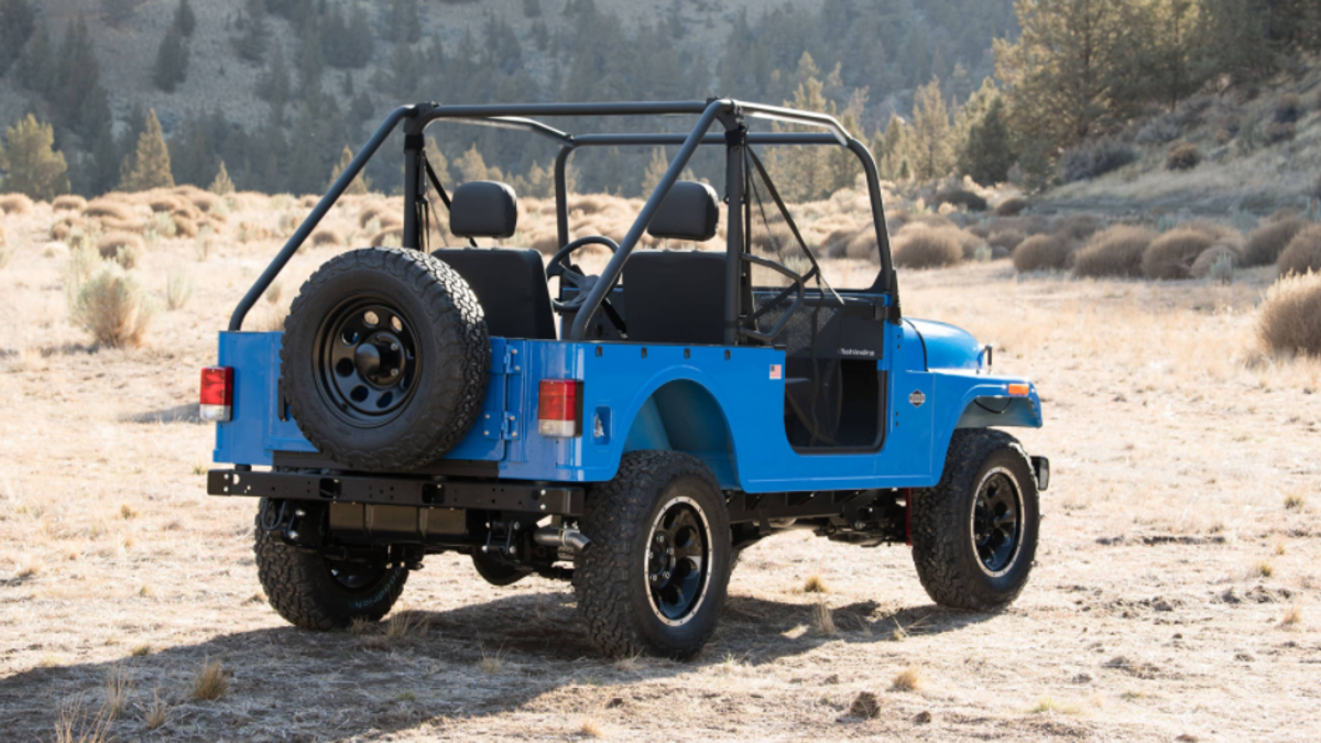 The Mahindra Roxor Is A Tiny Offroad Jeep That You Can Totally Buy Full Width Axles Yj 40s In America