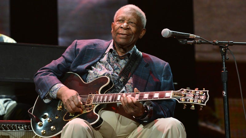B.B. King in 2013 (Image by: Getty Images)