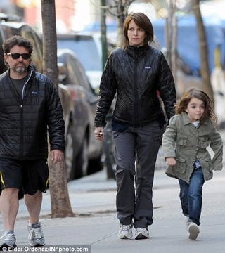 Illustration for article titled Tina Fey's Adorable Daughter Is Now An Internet Meme