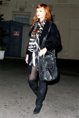 Ashlee Simpson Steps Out Post Baby In Badass Boots Ashlee Simpson Shoes