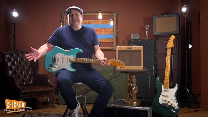 Jeff Garlin Stops By Chicago Music Exchange (Screenshot: YouTube)