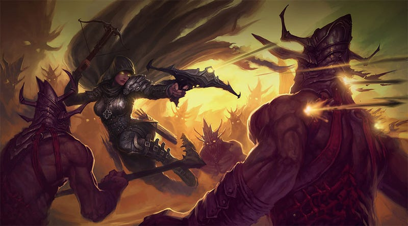 Illustration for article titled Security Tightens as Diablo III Prepares for Auction House Launch