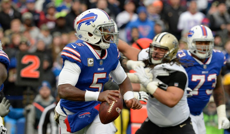 Bills bench Tyrod Taylor, will start Nathan Peterman at QB