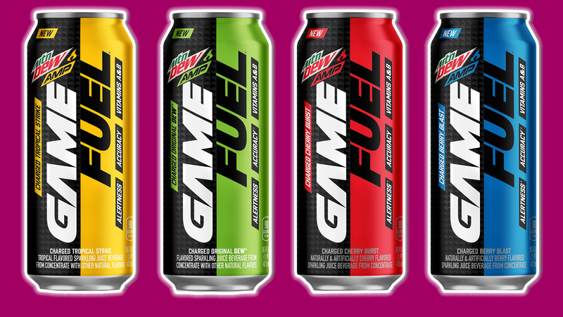 Illustration for article titled Every Flavor Of Game Fuel Reviewed And Then Mixed Together