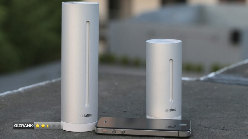 Illustration for article titled Netatmo Urban Weather Station Review: What the Hell Is the Point of This Thing?