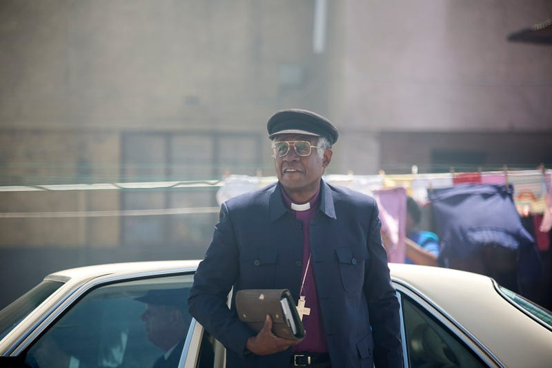 Forest Whitaker as Archbishop Desmond Tutu