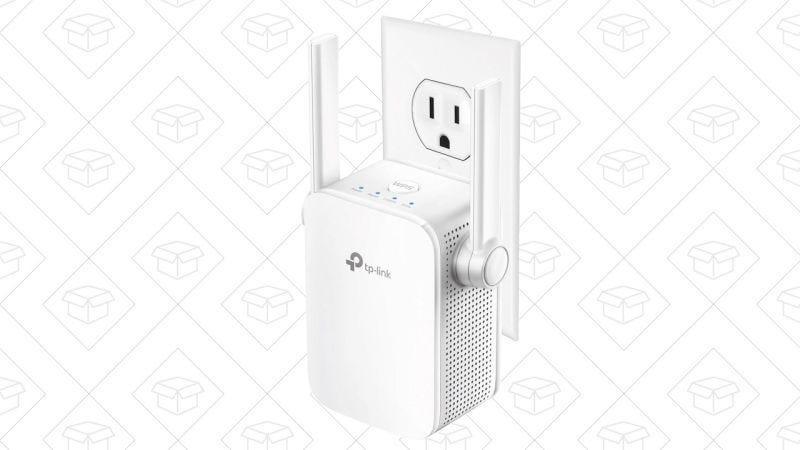 Extensor de red Wi-Fi TP-Link AC1200, $35