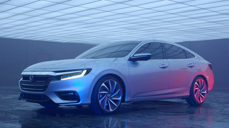 Honda Insight returning as a premium hybrid sedan