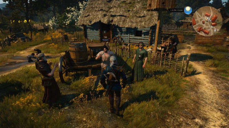 Illustration for article titled A Day in the Life of a Witcher 3 Village