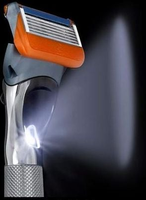 Illustration for article titled $150 Razor Comes with a Built-In Flashlight, Still Doesn't Explain The Price