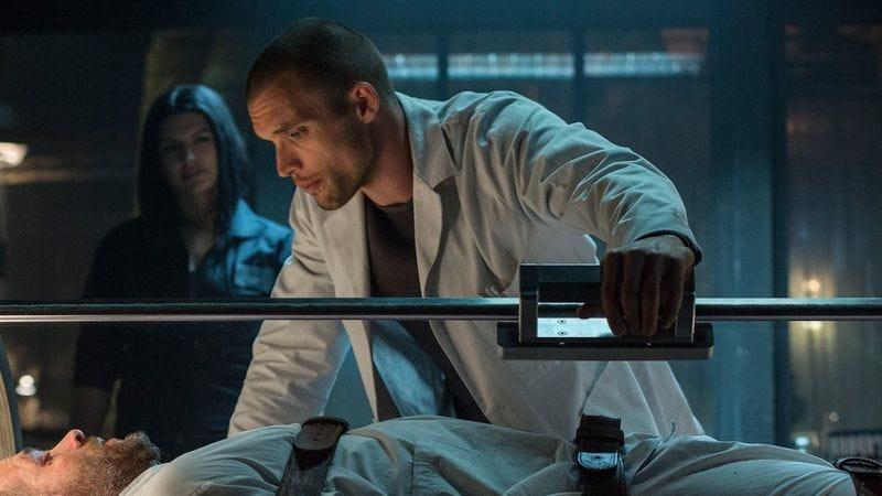 Ed Skrein as Ajax in Deadpool (2016)