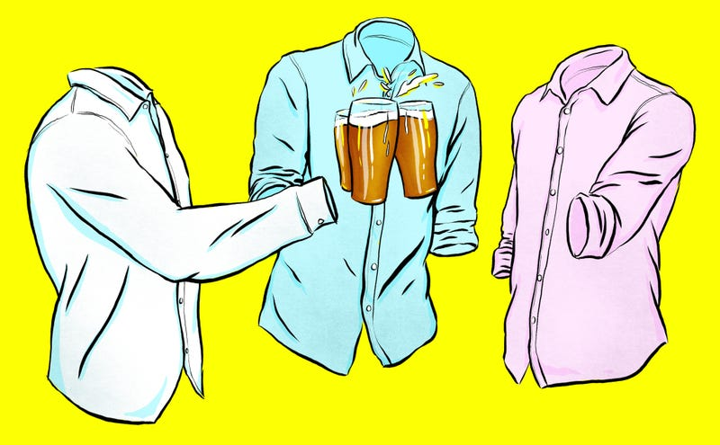 Illustration for article titled In Praise Of The Oxford Shirt, A Style Essential For Anonymous Drones Worldwide