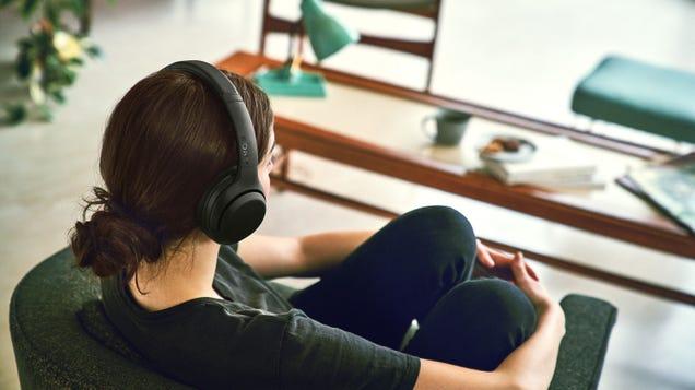 Whoa, Sony Made Cheaper Noise-Canceling Headphones