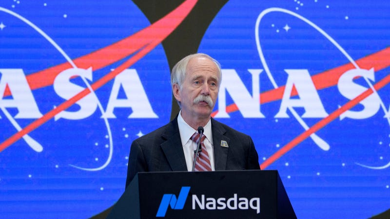 NASA Associate Administrator for the Human Exploration and Operations Directorate William Gerstenmaier ast a press conference in June 2019.