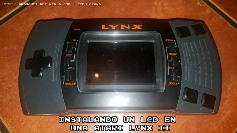 Illustration for article titled INSTALANDO UN LCD EN UNA ATARI LYNX II