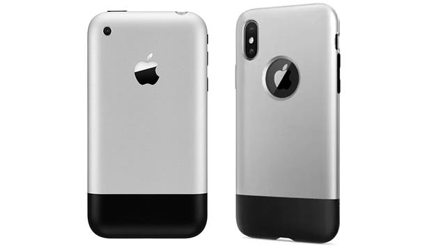 Give the Finger to Jony Ive With a Case That Makes Your iPhone X Look Like the Original