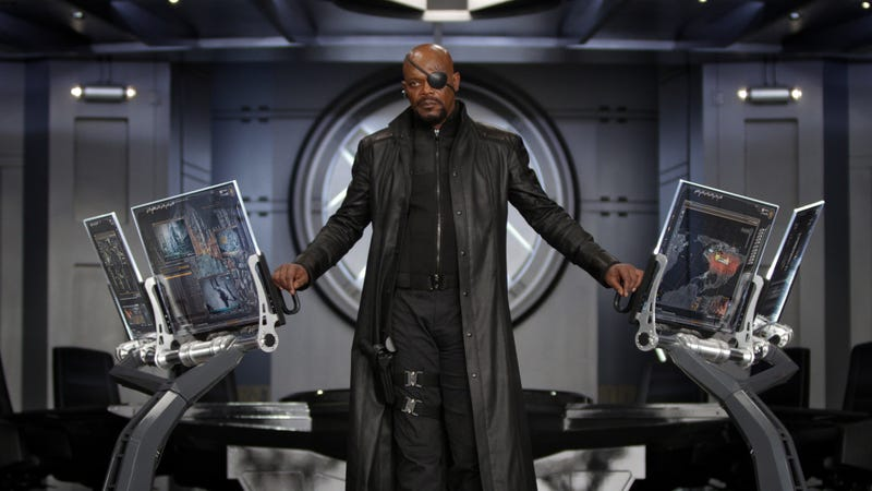 Illustration for article titled Samuel L. Jackson suspects that Captain Marvel might be important to Avengers 4