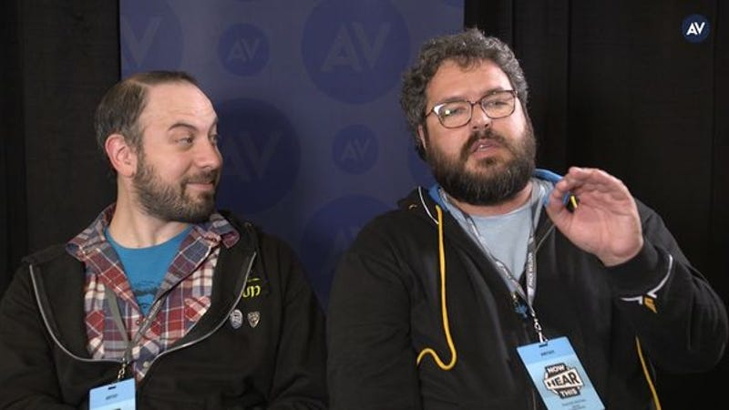 The Hosts Of Hello From The Magic Tavern Tell Us Their