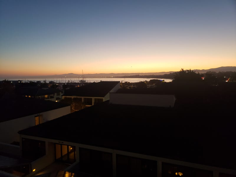 Illustration for article titled Sunrise over Monterey Bay