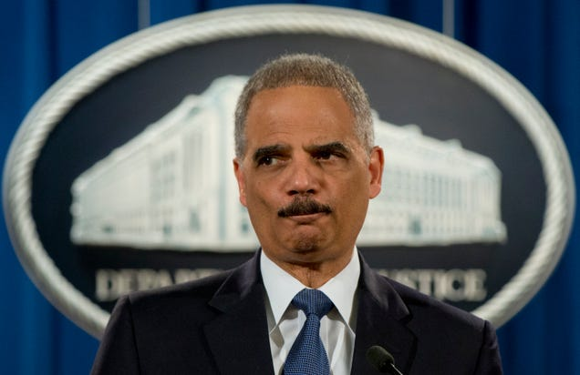 Eric Holder Finally Admits That the Snowden Leaks Were an Act of 'Public Service'
