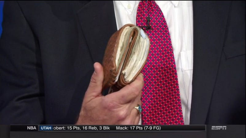 Illustration for article titled This Is Chris Berman's Wallet