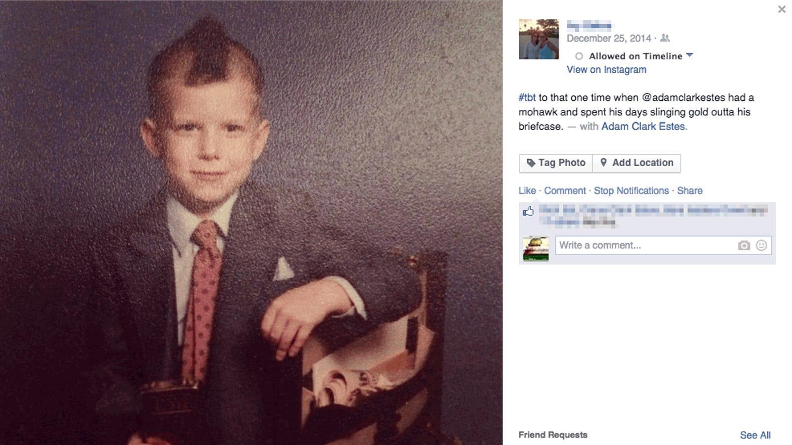 Cuatro líneas de código bastan para borrar cualquier foto en Facebook