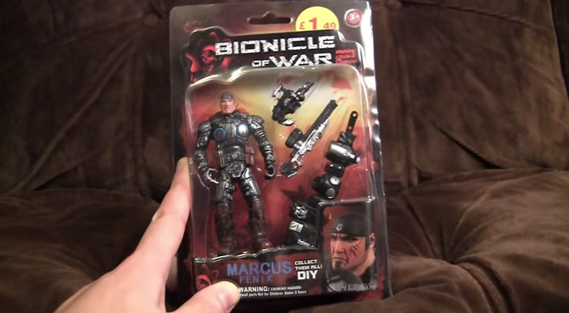 """Illustration for article titled Counterfeit Gears Of War Toy Line Called """"Bionicle Of War 2"""""""