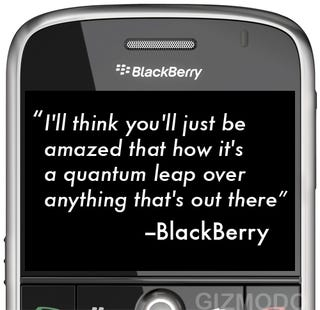 Illustration for article titled Fighting Words From BlackBerry