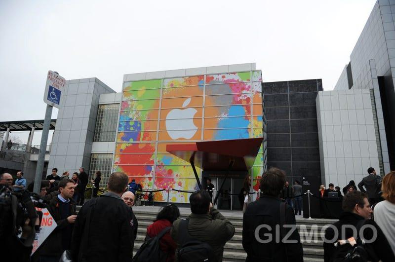 Illustration for article titled Apple Tablet Event Liveblog - We're Here