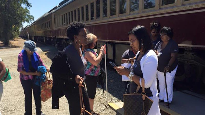 Illustration for article titled Black Women Kicked Off a Wine Train for Laughing Are Suing for Racial Discrimination