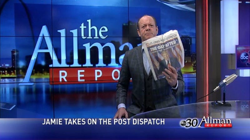 Conservative commentator Jamie Allman