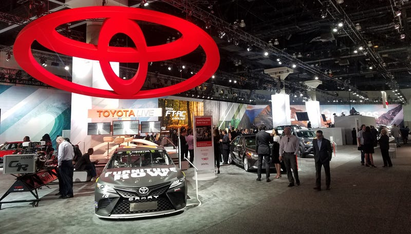 not at the la auto show the new toyota supra. Black Bedroom Furniture Sets. Home Design Ideas