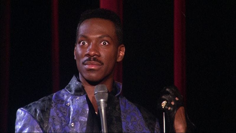 Eddie Murphy wants to make a new album, a TV show, and maybe a Spielberg movie