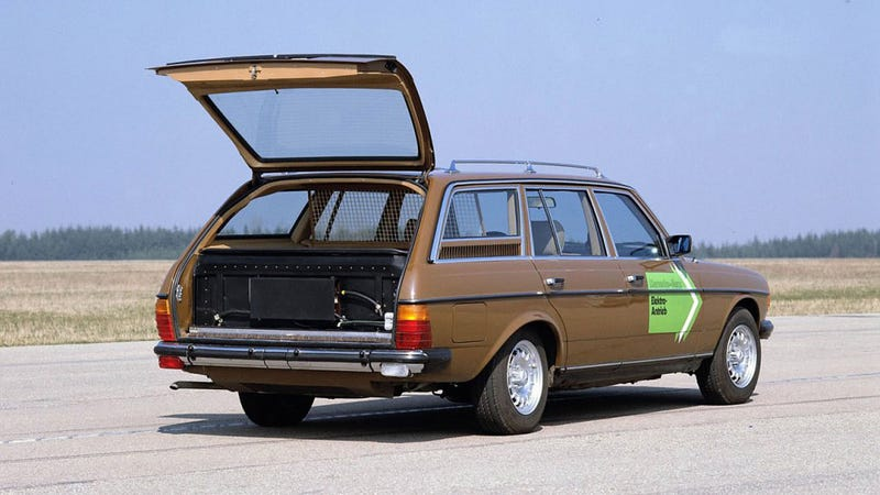 This 1980 S Electric Mercedes Prototype Didn T Solve The Oil Crisis