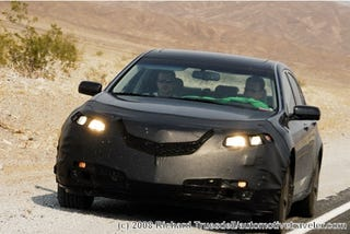 Illustration for article titled 2009 Acura TL Shvitzing In The Hot Desert Heat