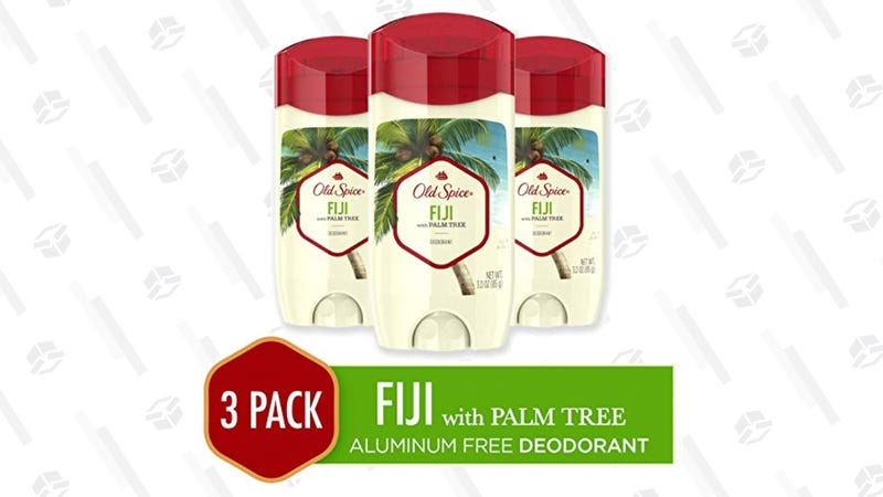 Old Spice Aluminum-Free Deodorant For Men, 3 Pack| $10 | Amazon | Clip the $4.50 coupon