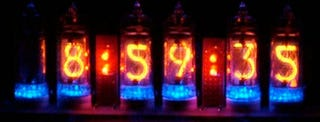Illustration for article titled Nixie Tube Clock Kit Lets You Go Retro