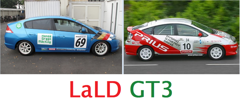 Illustration for article titled LaLD GT3 and GT2-Am Spec Racing UPDATE