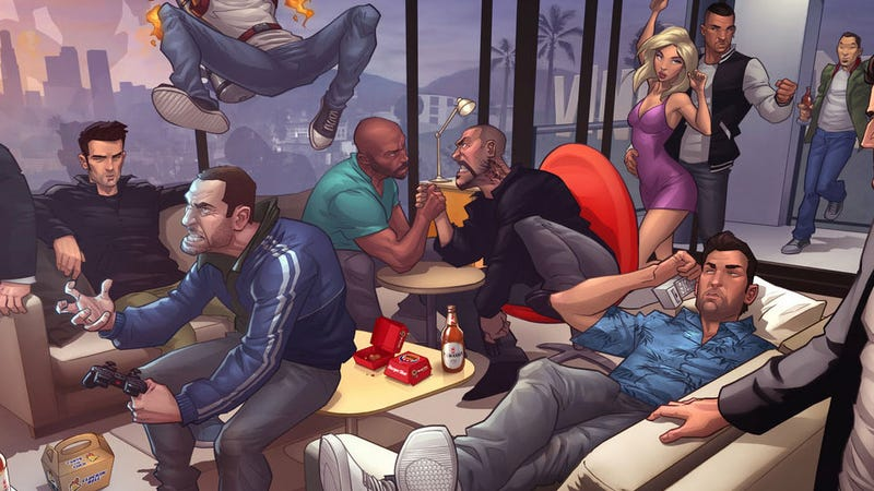 Illustration for article titled Getting the Grand Theft Auto Band Back Together