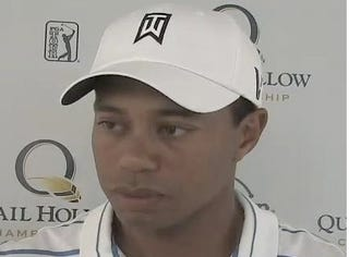 """Illustration for article titled Tiger Answers ESPN's Questions: """"A Lot of Ugly Things Have Happened."""""""