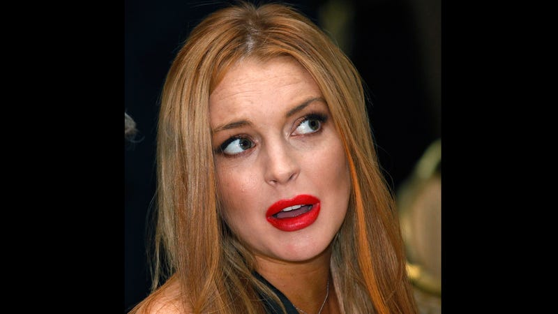 Illustration for article titled Lindsay Lohan is 'Happy' in Rehab, Says Totally Credible Source Dina Lohan