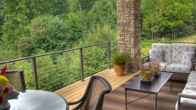 Do It Yourself Home Design: Install Your Own Cable Railing For A Better View On Your Deck
